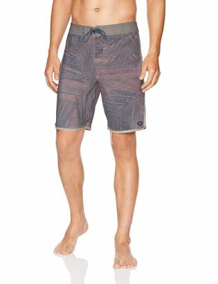 O'Neill Men's Hyperfreak Scallop with Back Pocket Stretch Boardshort