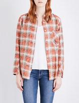 Drifter Mary cotton-flannel shirt