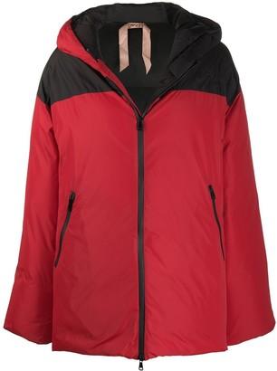 No.21 Colour-Block Padded Jacket