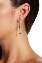 Rebecca Minkoff Spiked Front & Back Drop Earrings