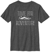 Fifth Sun Charcoal Heather 'Time for Adventure' Crewneck Tee - Boys