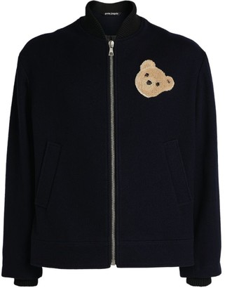 Palm Angels Bear Zip-Up Jacket