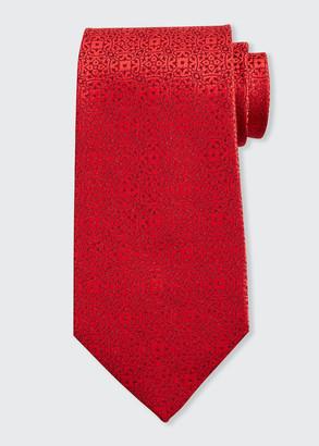 Charvet Swirls Silk Tie
