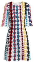 Mary Katrantzou Lennax guipure-lace mini dress