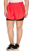 Xersion Solid Running Shorts Plus