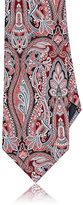Ermenegildo Zegna Men's Paisley Silk Necktie-RED