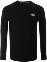 Superdry Vintage Embroidery T Shirt Black
