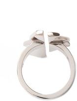 Kelly Wearstler Aperto Ring in White Rhodium