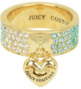 Juicy Couture Gradient Pave Heart Ring