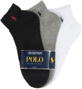 Polo Ralph Lauren Polo 3 Pack Classic Quarter Sock