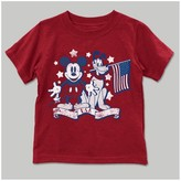 Mickey Mouse Toddler Boys' Mickey Mouse T-Shirt - Red Heather