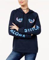 Disney Juniors' Stitch Aloha Graphic Hoodie