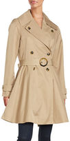 CeCe Flared Trench Coat