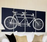 Pottery Barn Tandem Bicycle Canvas
