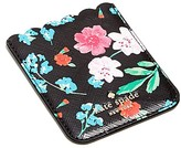 Kate Spade Scallop Floral Print Pocket Adhesive Card Case