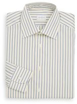 Ermenegildo Zegna Regular-Fit Striped Cotton Dress Shirt
