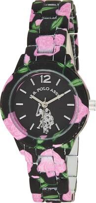U.S. Polo Assn. Women's USC40103 Analog Display Analog Quartz Two Tone Watch