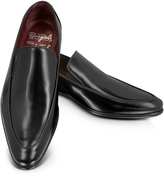 Fratelli Borgioli Cricket Black Leather Loafer