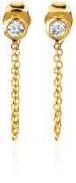 Logan Hollowell - LH x FS Chain White Sapphire Earring Pair