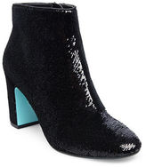 Betsey Johnson Blair Sequined Ankle Boots