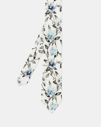 Ted Baker Floral Printed Silk Tie