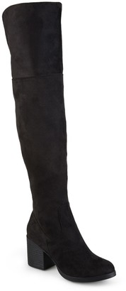 Journee Collection Sana Over-the-Knee Boot - Wide Calf