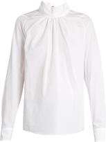Golden Goose Deluxe Brand Marian high-neck cotton blouse