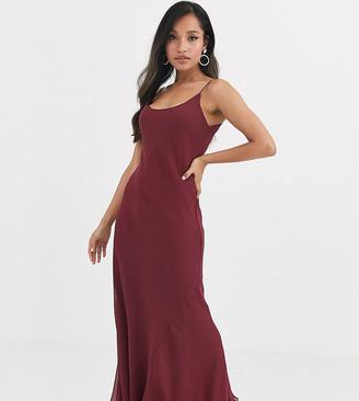 Asos DESIGN Petite floaty cami maxi dress