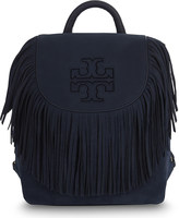 Tory Burch Harper fringe mini suede backpack