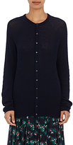 TOMORROWLAND Women's Cashmere-Cotton Cardigan-NAVY