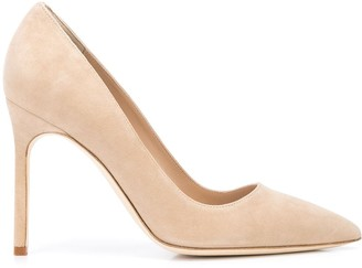 Manolo Blahnik BB calf suede pumps