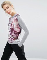 Ted Baker Illuminated Bloom Woven Sweater