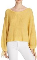 Ella Moss Lesya Tie-Cuff Sweater