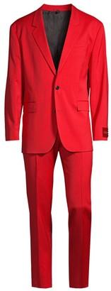 HUGO BOSS Ulan Virgin Wool Suit