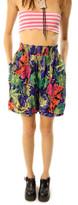 Black Sheep Tropical High Waist Shorts