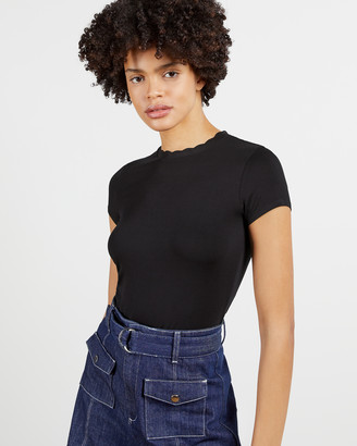 Ted Baker LECCA Fitted tee with neck detail