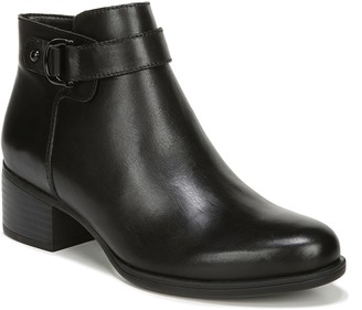 Naturalizer Leather Side-Zip Booties - Drewe