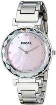 Pulsar Women's PM2079 Night Out Analog Display Japanese Quartz Silver Watch