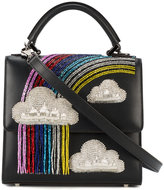 Les Petits Joueurs mini Alex rainbow shoulder bag - women - Leather - One Size