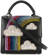 Les Petits Joueurs mini Alex rainbow shoulder bag