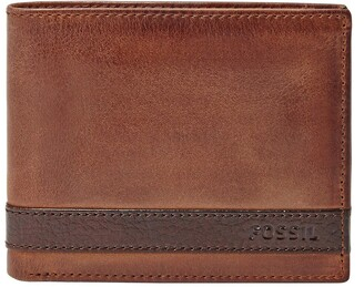 Fossil Quinn Leather Bifold Wallet
