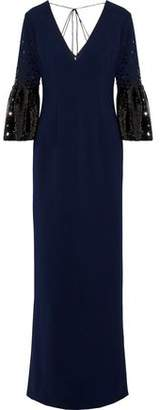 Sachin + Babi Tower Sequin-embellished Cady Gown