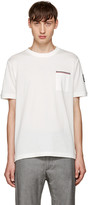 Moncler Gamme Bleu White Pocket T-shirt