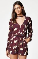 KENDALL + KYLIE Kendall & Kylie Cutout Front Long Sleeve Romper