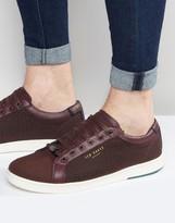 Ted Baker Keeran Print Sneakers