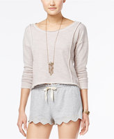 American Rag Open-Back Crochet Top, Only at Macy's