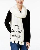 Kate Spade Baby It's Cold Outside Scarf