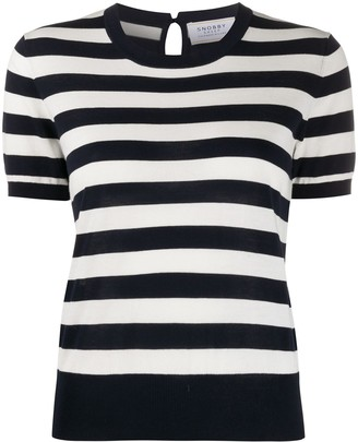Snobby Sheep Audrey striped knit top