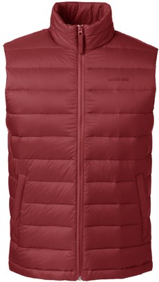 Lands' End Big & Tall Tall 600 Down Vest