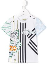 Kenzo Tiger logo print T-shirt - kids - Cotton - 9 mth